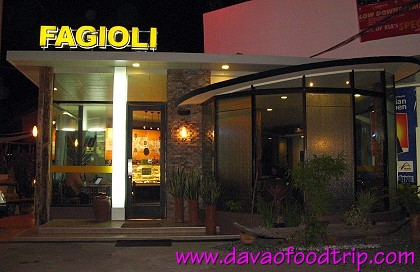 Fagioli Coffee Club at Lanang, Davao City