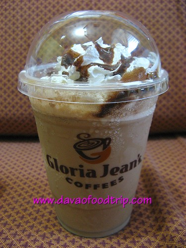 Gloria Jean's Coffees Davao - Chocolate Macadamia Nut Coffee Chiller (P150)