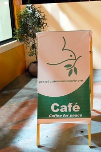 Coffee For Peace (Davao) front sign board