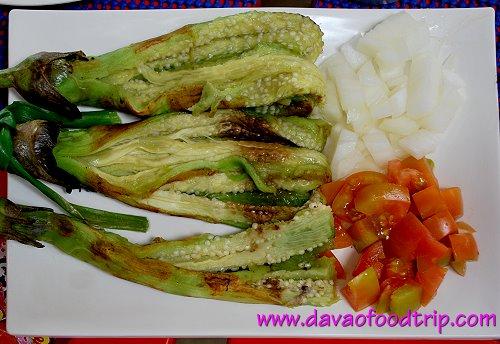 paradise island resort eggplant salad
