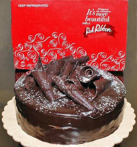 Red Ribbon Cake Delivery Davao City