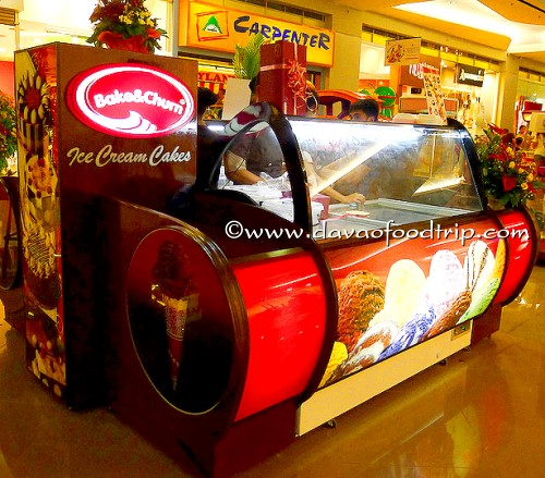 Bake & Churn Ice Cream Cakes SM City Davao
