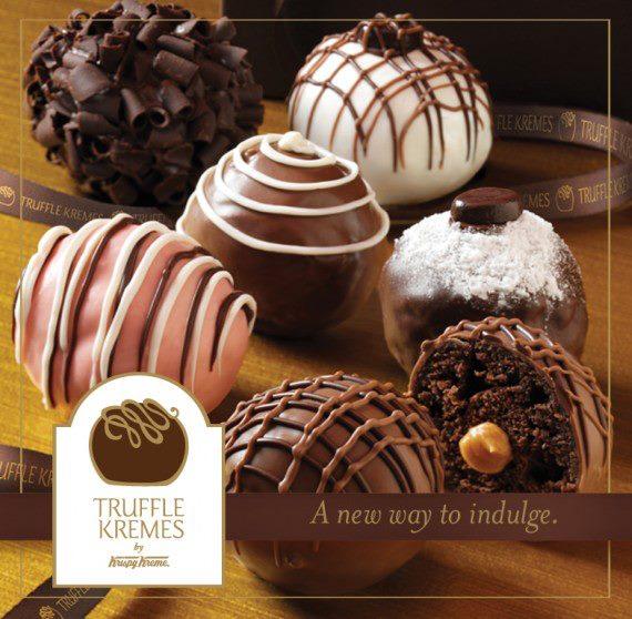Truffle Kremes by Krispy Kreme