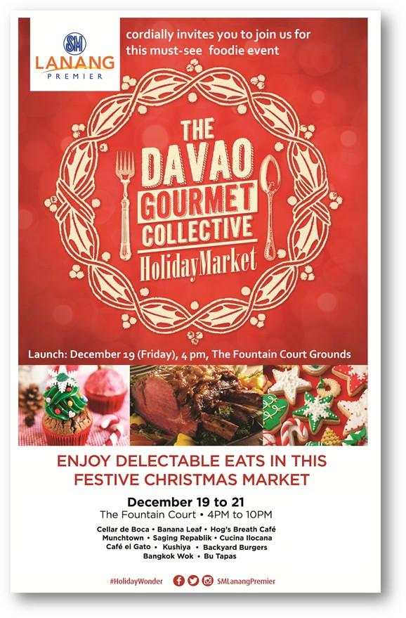 Davao Gourmet Collective Holiday Market 2014 SM Lanang Premier