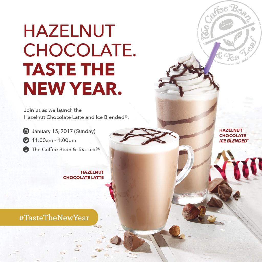 CBTL open house 2017 Hazelnut chocolate latte and ice blended