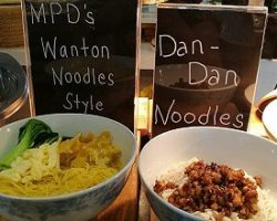 Wanton Noodles Style and Dan Dan Noodles Marco Polo