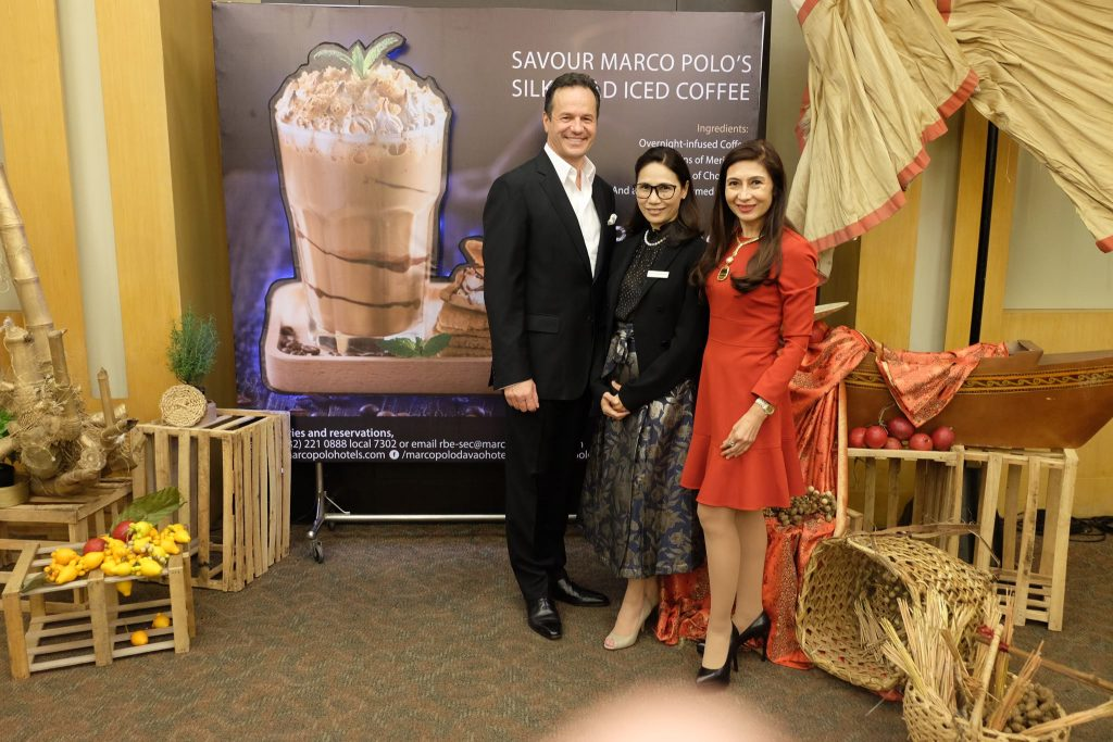 Philippe Caretti Vice President for Operations of Wharf Hotels - Savour The Silk Road Iced Coffee at Marco Polo Hotels Davao