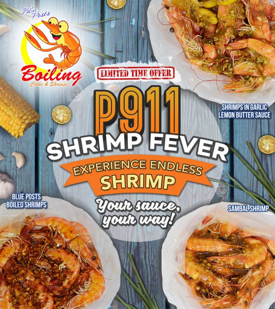 Blue Posts 911 Shrimp Fever
