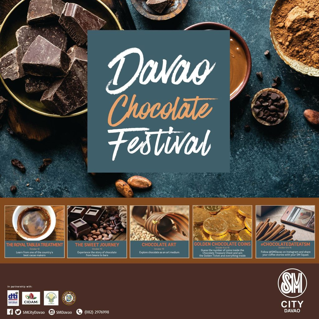 4th Davao Chocolate Festival Opens October 12 at SM City Davao Annex