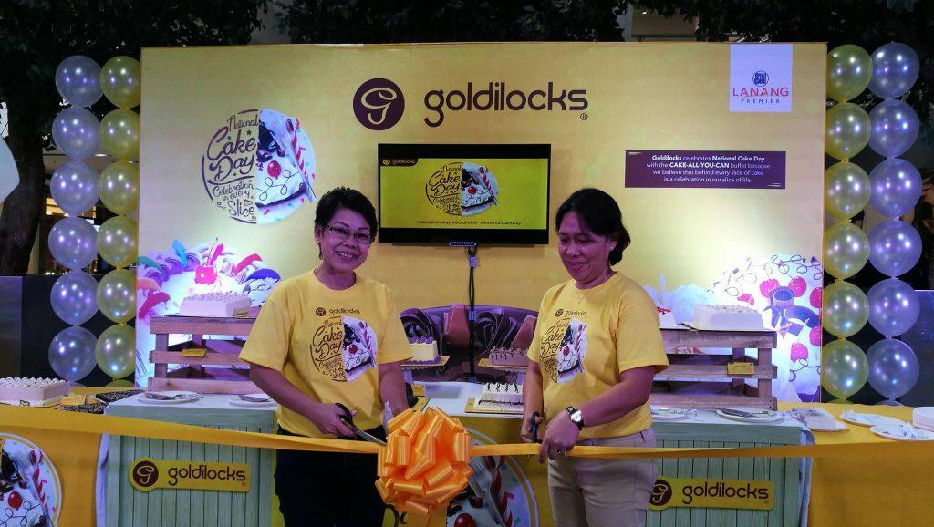 Goldilocks National Cake Day 11262017 5 SM Lanang Premier
