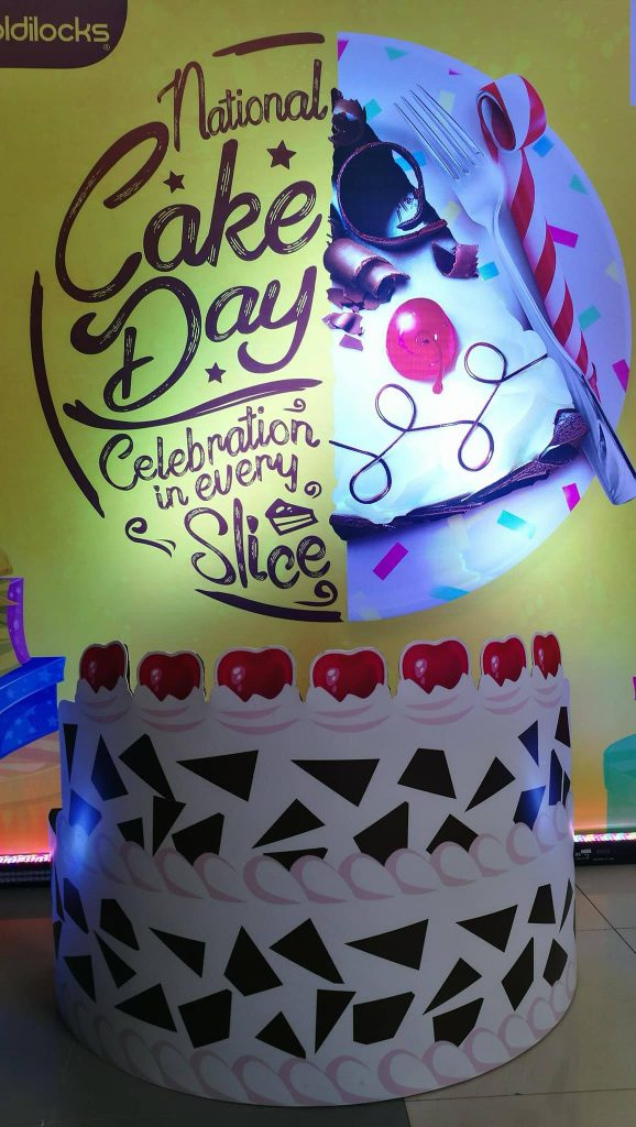 Goldilocks National Cake Day 11262017 SM Lanang Premier