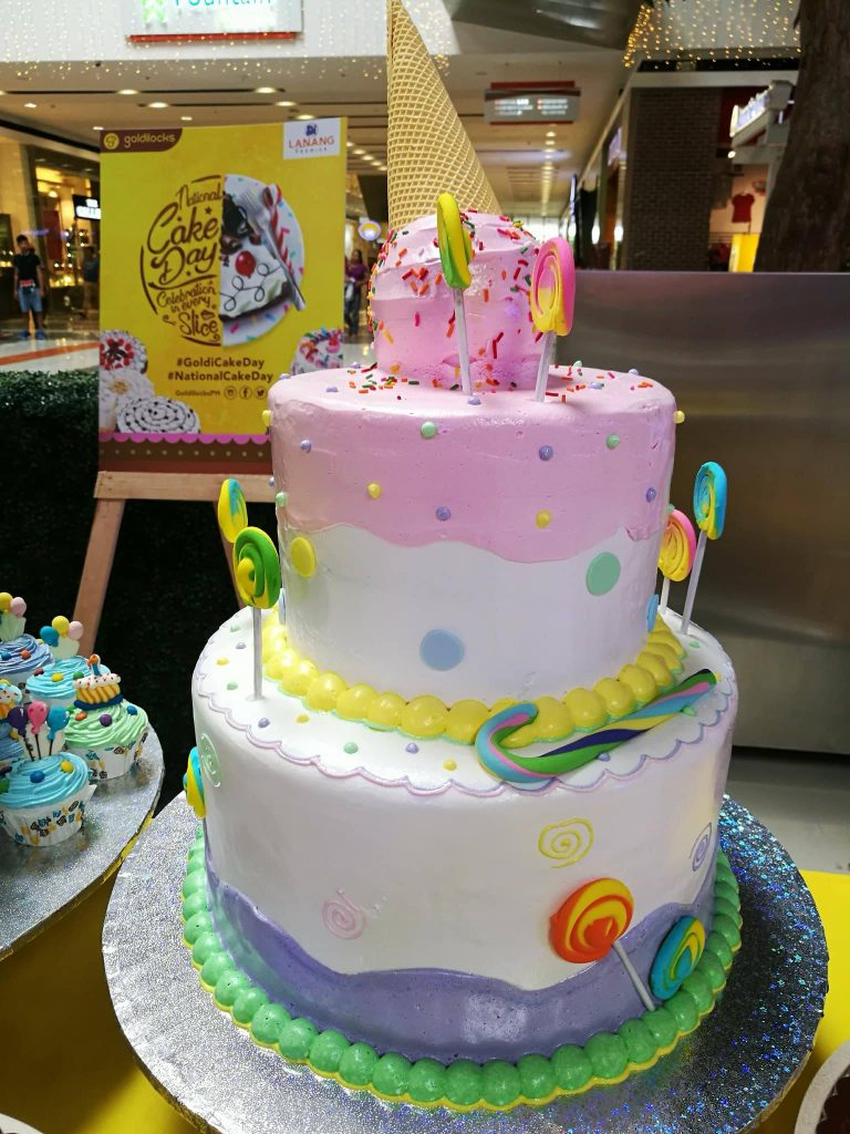 Goldilocks National Cake Day 11262017 cake