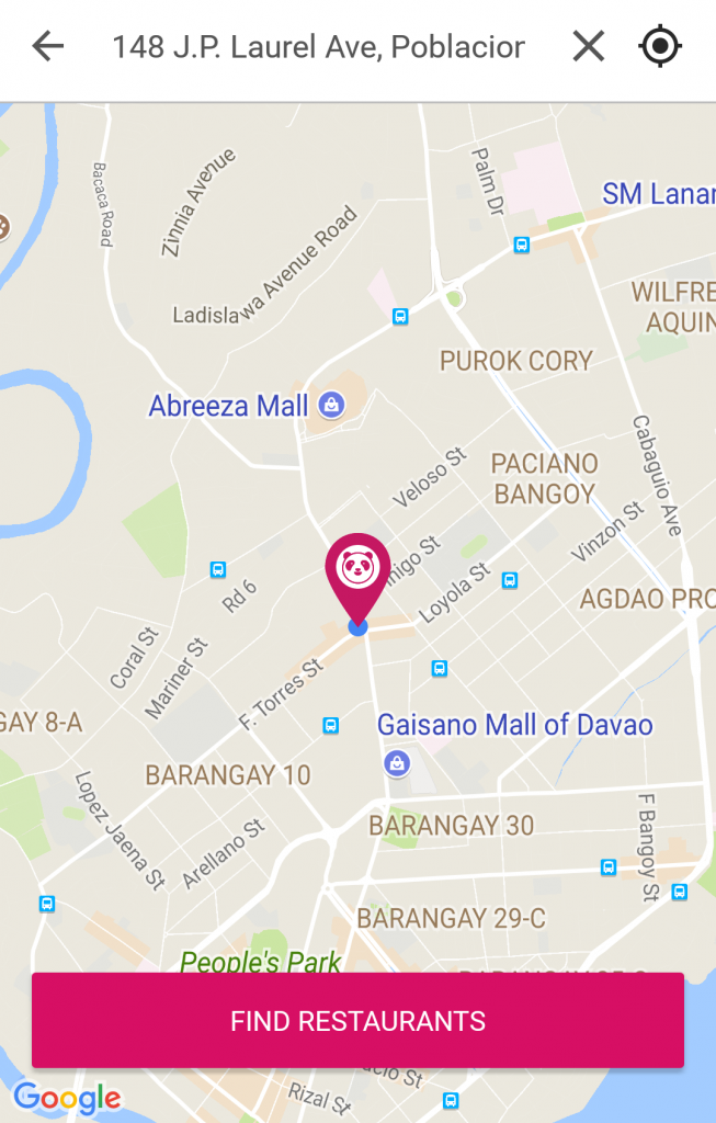 foodpanda in Davao City