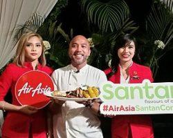 Chef JP Anglo AirAsia Philippines Santan In-flight Menu