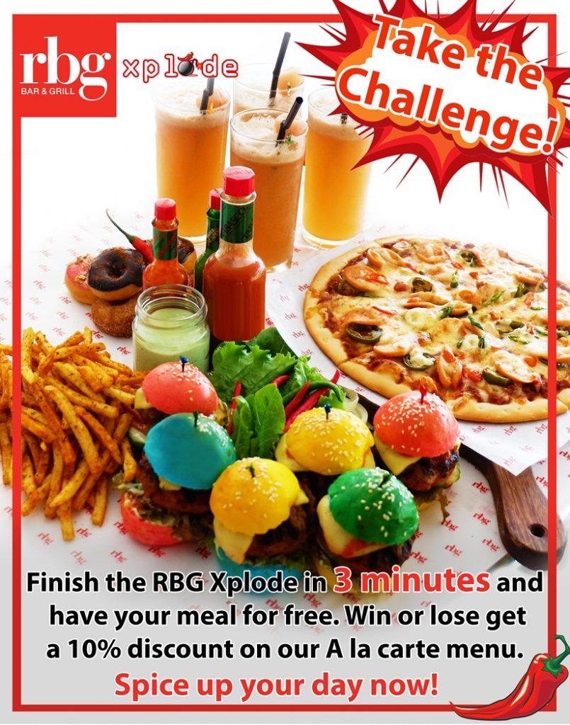 Park Inn by Radisson Davao RBG Xplode 3 minute challenge | PR image