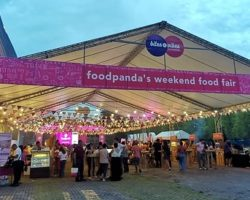 FoodPanda Bites and Vibes Weekend Food Fair