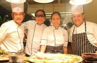 Chef Lau and Chef Jackie Laudico at Waterfront Insular Hotel Davao Cafe Uno