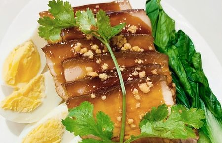 Crustasia Asian Seafood Market's Taiwanese Pork Belly